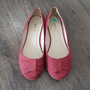 JustFab Slip In Shoes